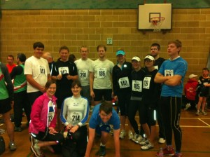 SRC before the 2012 Lewes 10k
