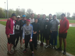 SRC after the Lewes 10k 2012...and still smiling!