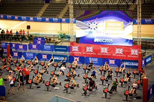 British Rowing Indoor Championships 2015 - credit Naomi Baker