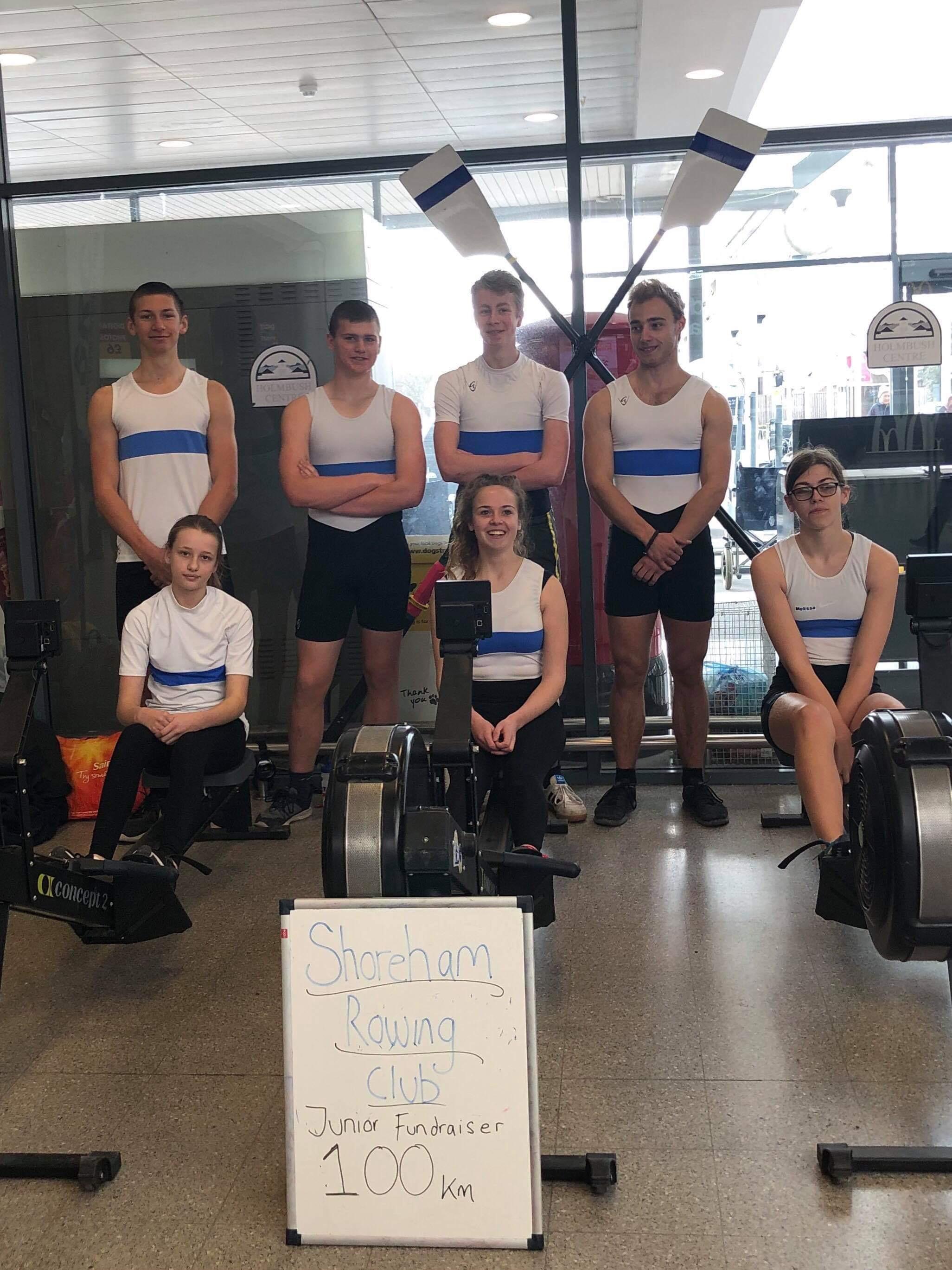 Junior Rowers 100km Challenge